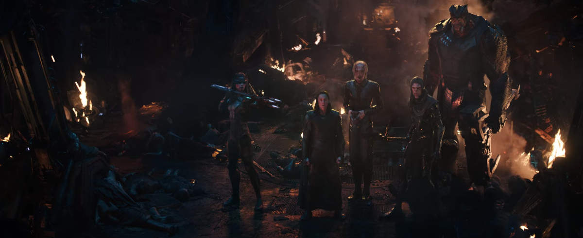 Avengers: Infinity War - Loki and the Black Order