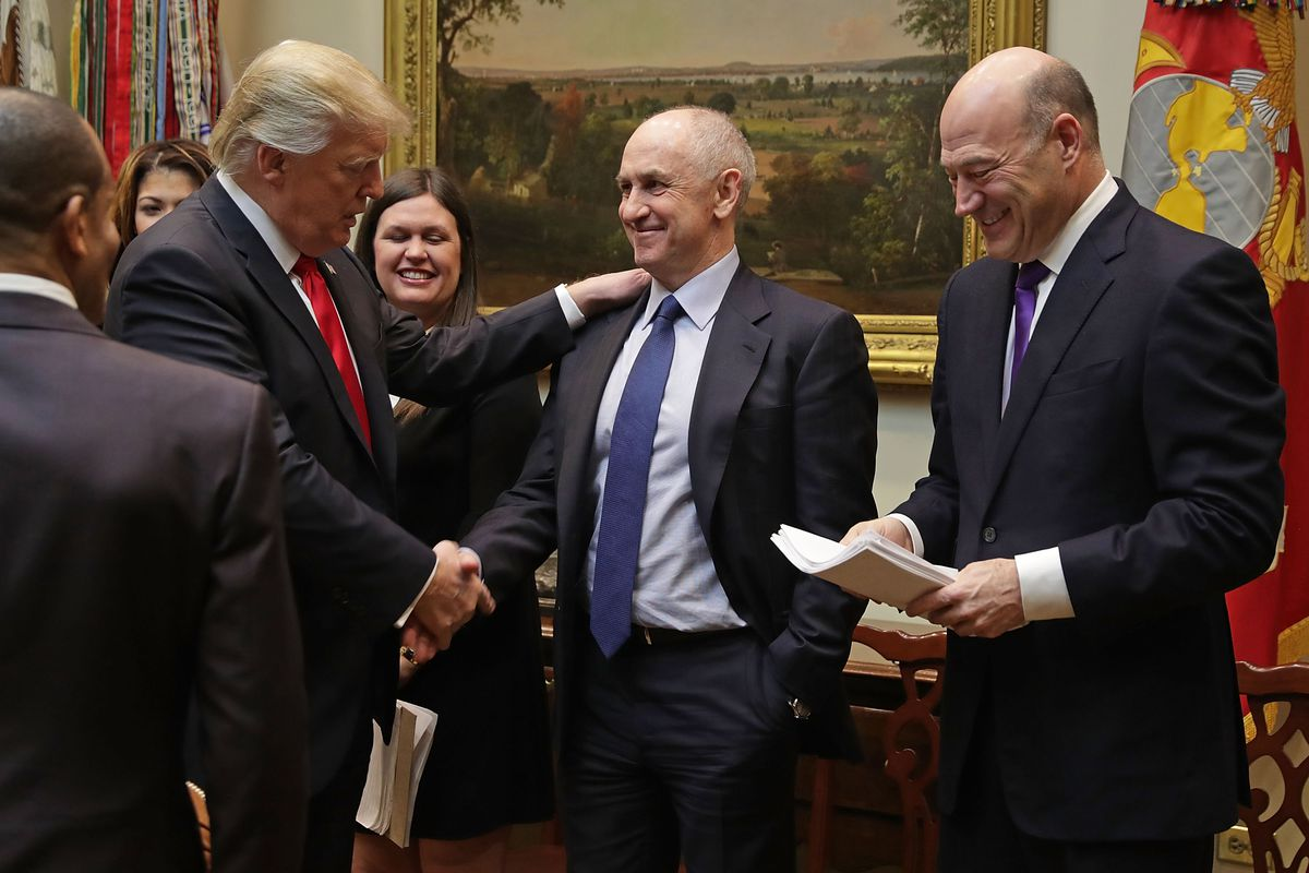 Trump Meets With Small Business Leaders At White House
