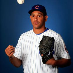 What goes up, must come down. Right, Carlos Marmol? Right?