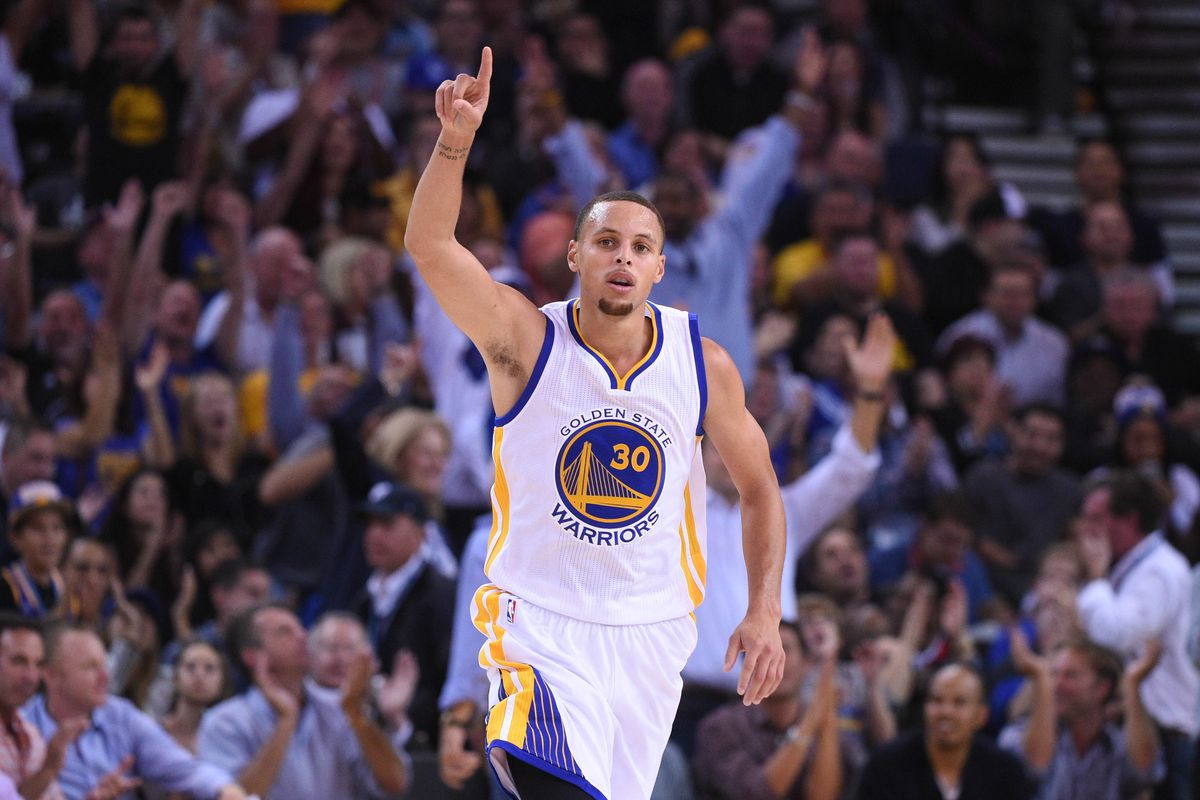 Be thankful for Steph Curry this Thanksgiving. He's a boss.