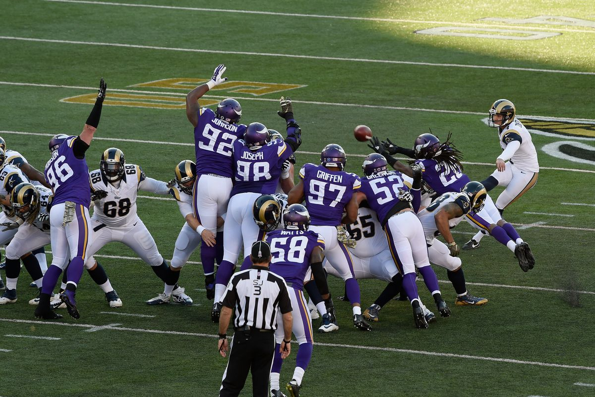 34656ff61 2015 St. Louis Rams at Minnesota Vikings Photo by Hannah Foslien Getty  Images
