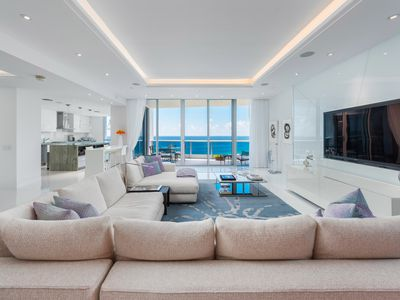 Tour this oceanfront 6m miami beach condo by drone for 17th floor concert schedule