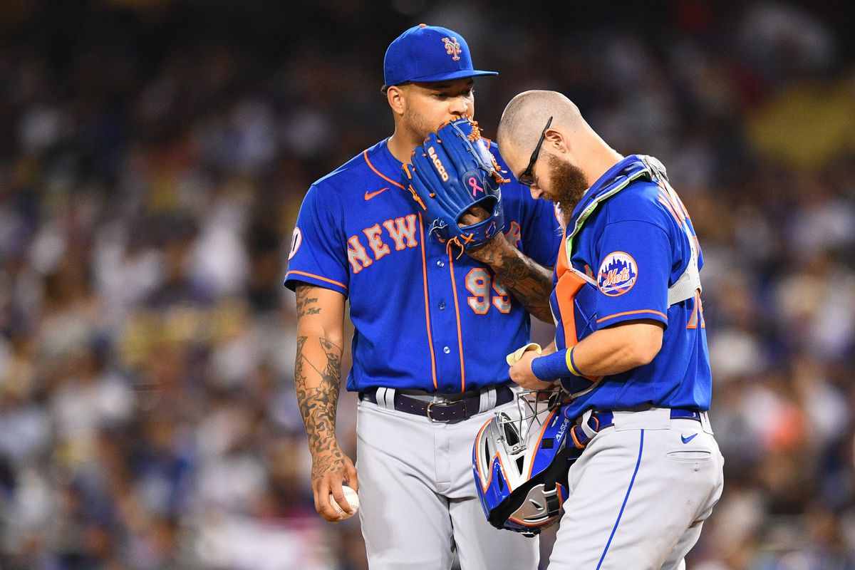 MLB: AUG 19 Mets at Dodgers