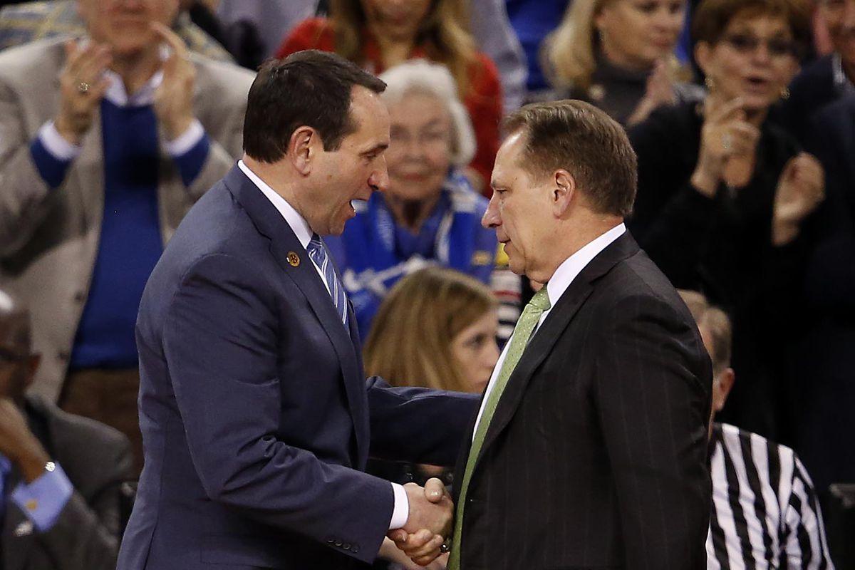 NCAA Basketball: Final Four-Michigan State vs Duke