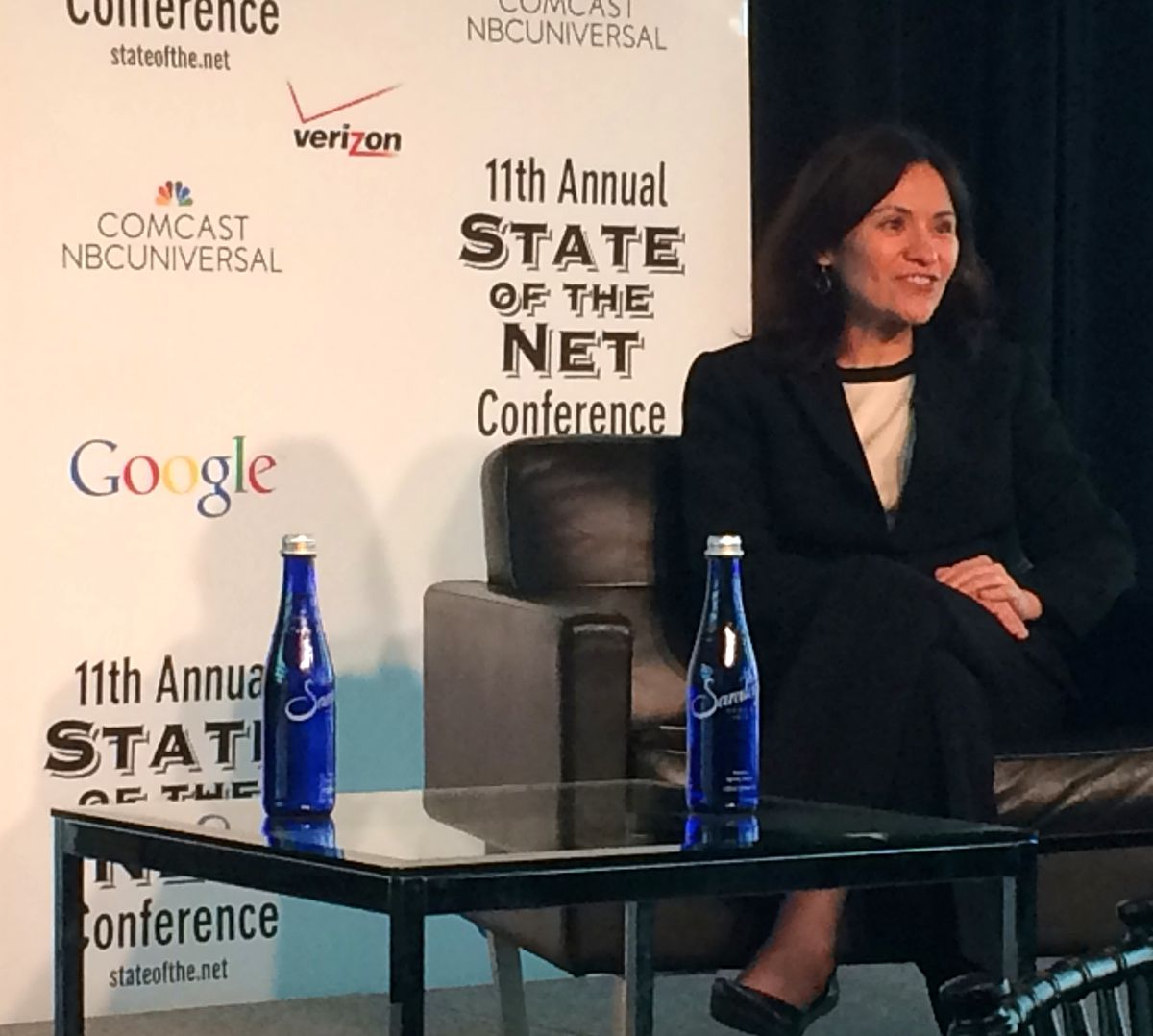 FTC Chairwoman Edith Ramirez at the State of the Net Conference