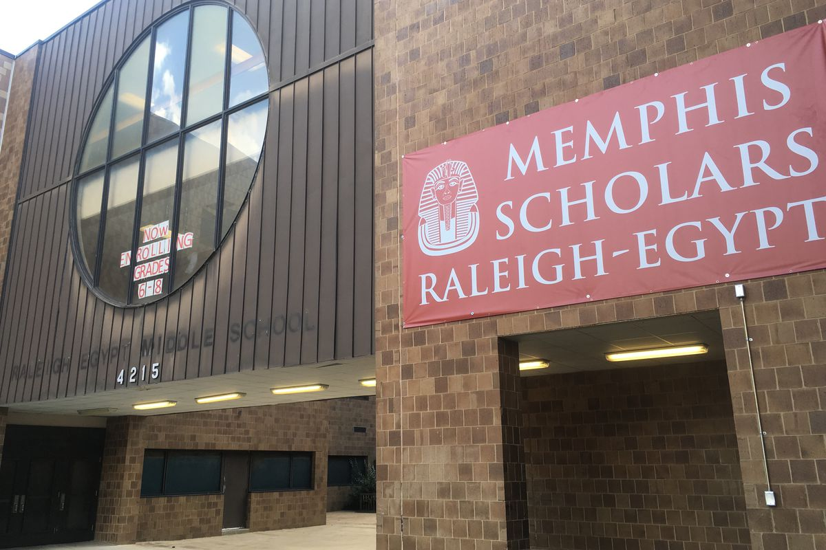 The former Raleigh Egypt Middle School is back to housing middle schoolers under Shelby County Schools, not the state-run Achievement School District and its operator, Memphis Scholars.