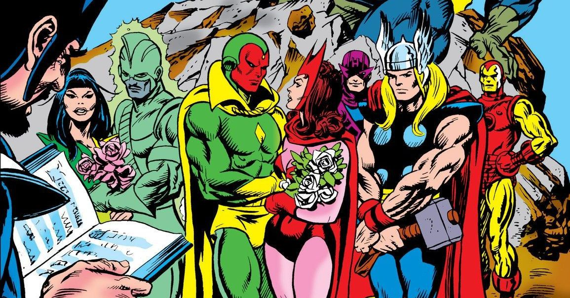 WandaVision: Vision and Scarlet Witch's messy comics history, explained - Polygon