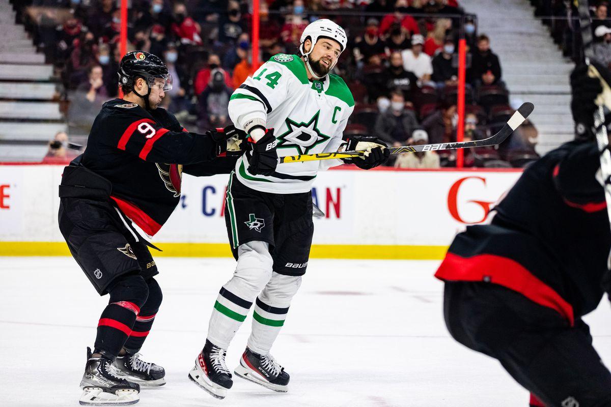 NHL: OCT 17 Stars at Senators