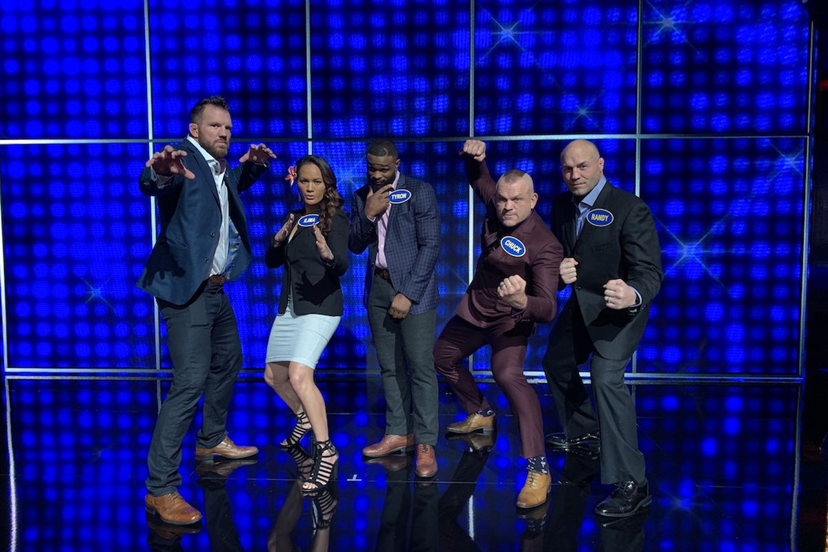 Highlights! Watch WWE topple MMA on ABC's 'Celebrity Family Feud'