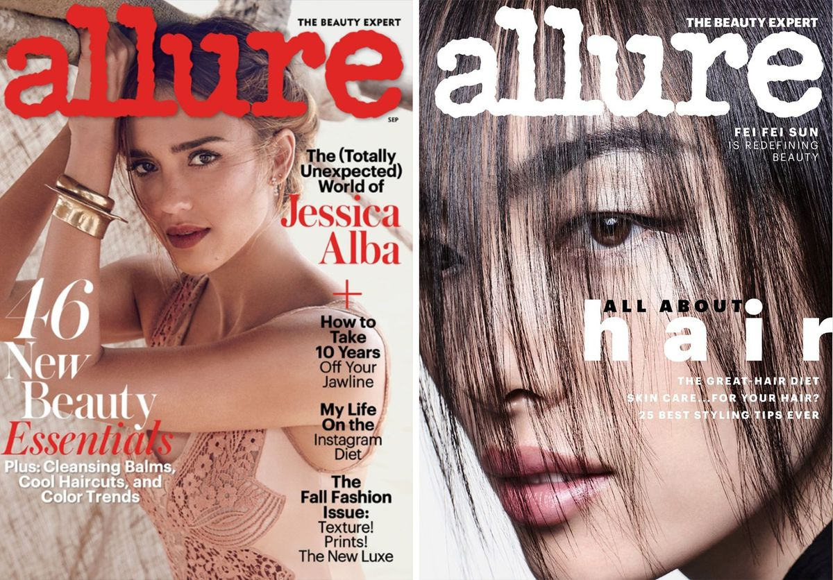 Two Allure covers