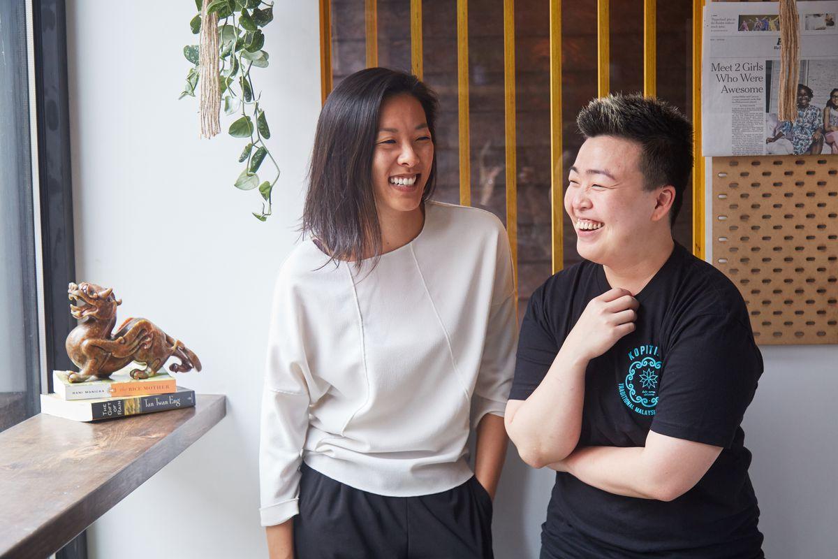 Moonlyn Tsai and Kyo Pang