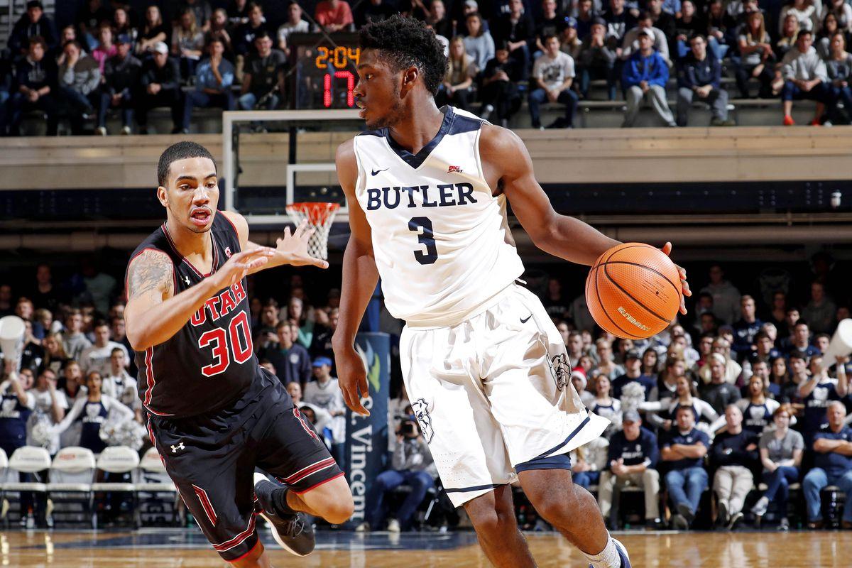 NCAA Basketball: Utah at Butler