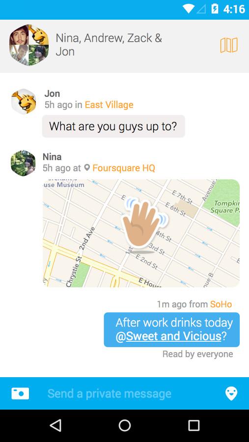 Swarm messaging