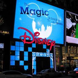 Magically Disney-fied.