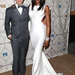 Zac Posen and Naomi Campbell