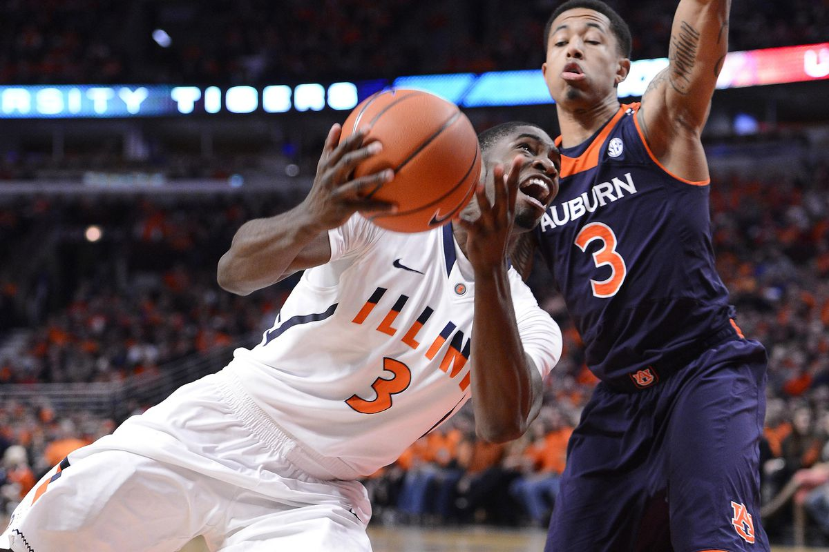 Brandon Paul will contort himself in any direction necessary to get Illinois off the snide.