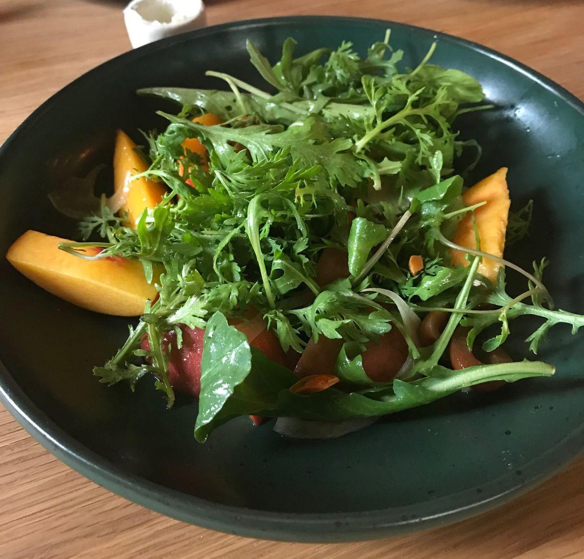 Stonefruit salad from Octavia