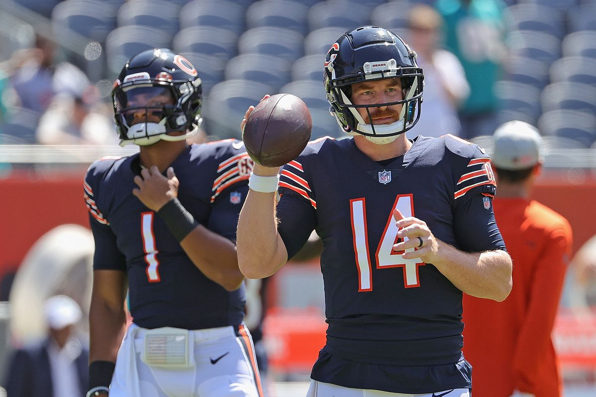 Quarterback Andy Dalton will play more Saturday than he did the week before.