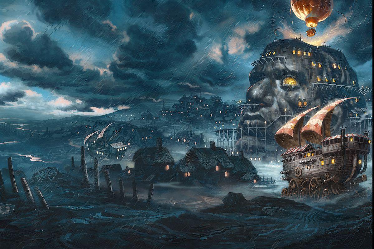 Titanic Third Class Menu Peter Jackson S Next Project Is Steampunk Mad Max Polygon