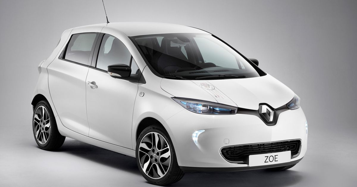 is the renault zoe star wars edition the electric car for han solo the verge. Black Bedroom Furniture Sets. Home Design Ideas