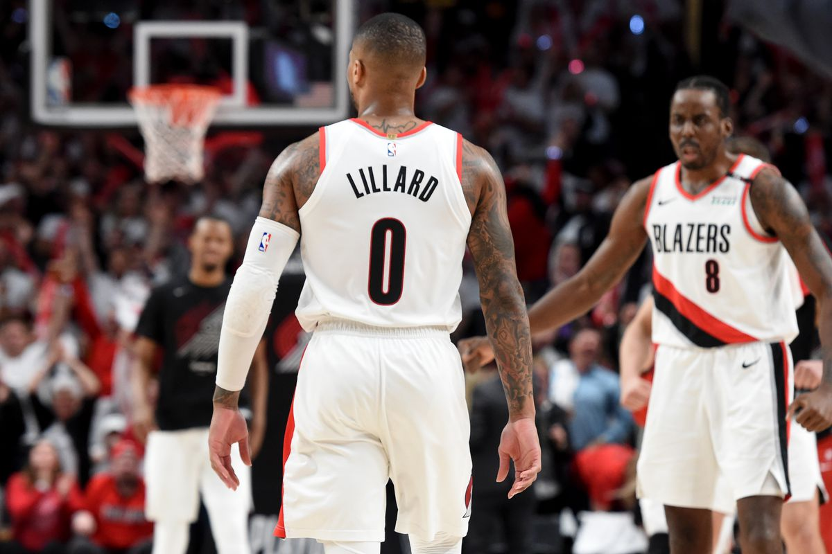 fb28c2314d2 Cold-Blooded Damian Lillard Takes on Russell Westbrook and Wins ...
