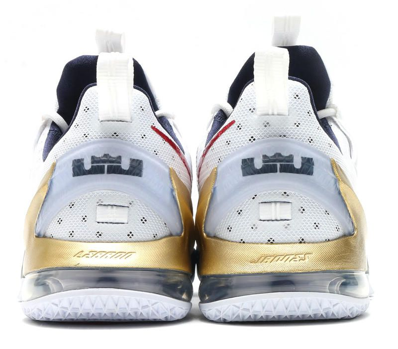 purchase cheap c17a7 d8ddf Here s a look at the shoe on foot, although it is identified incorrectly  Lebron  13 Low