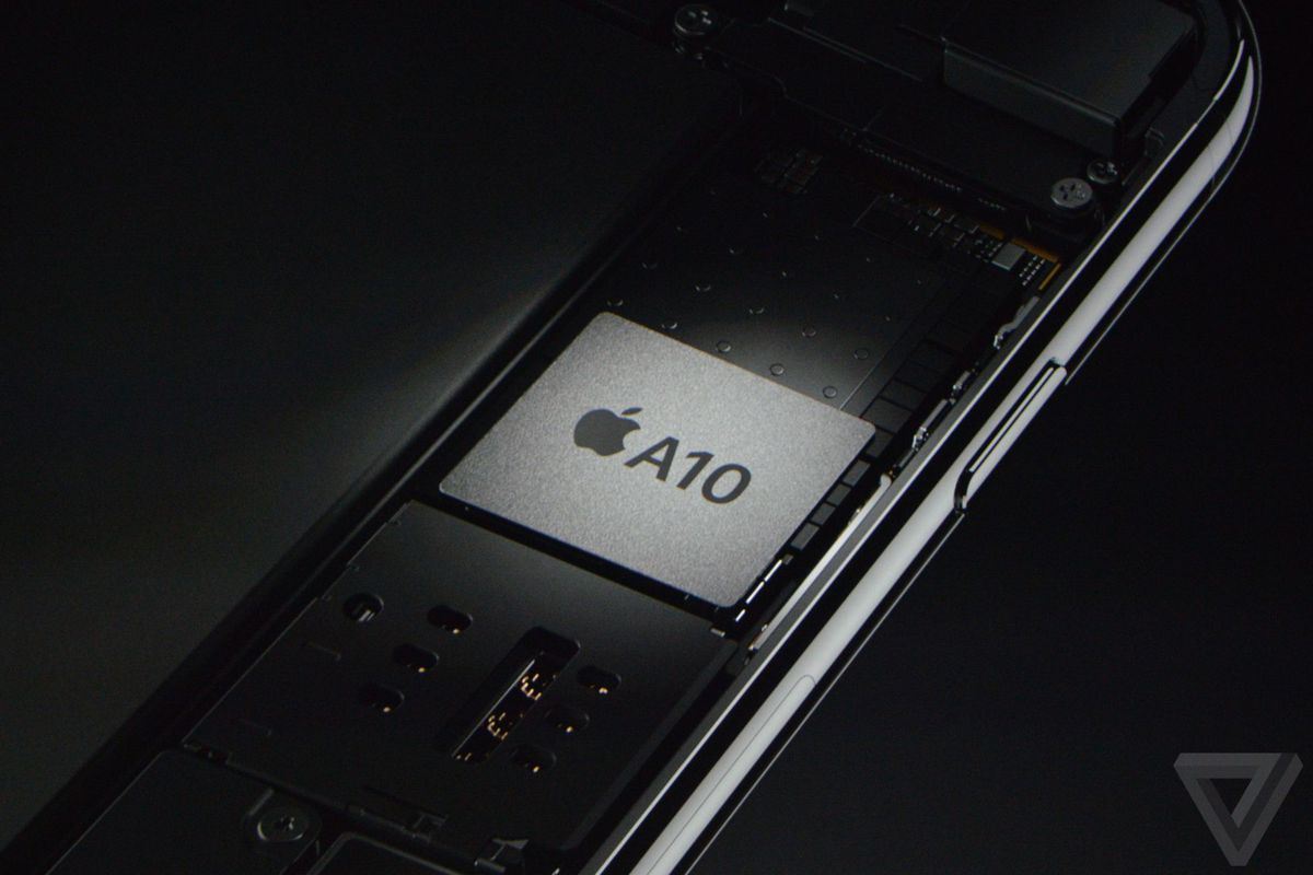 Apple's new A10 Fusion processor is 120 times faster than