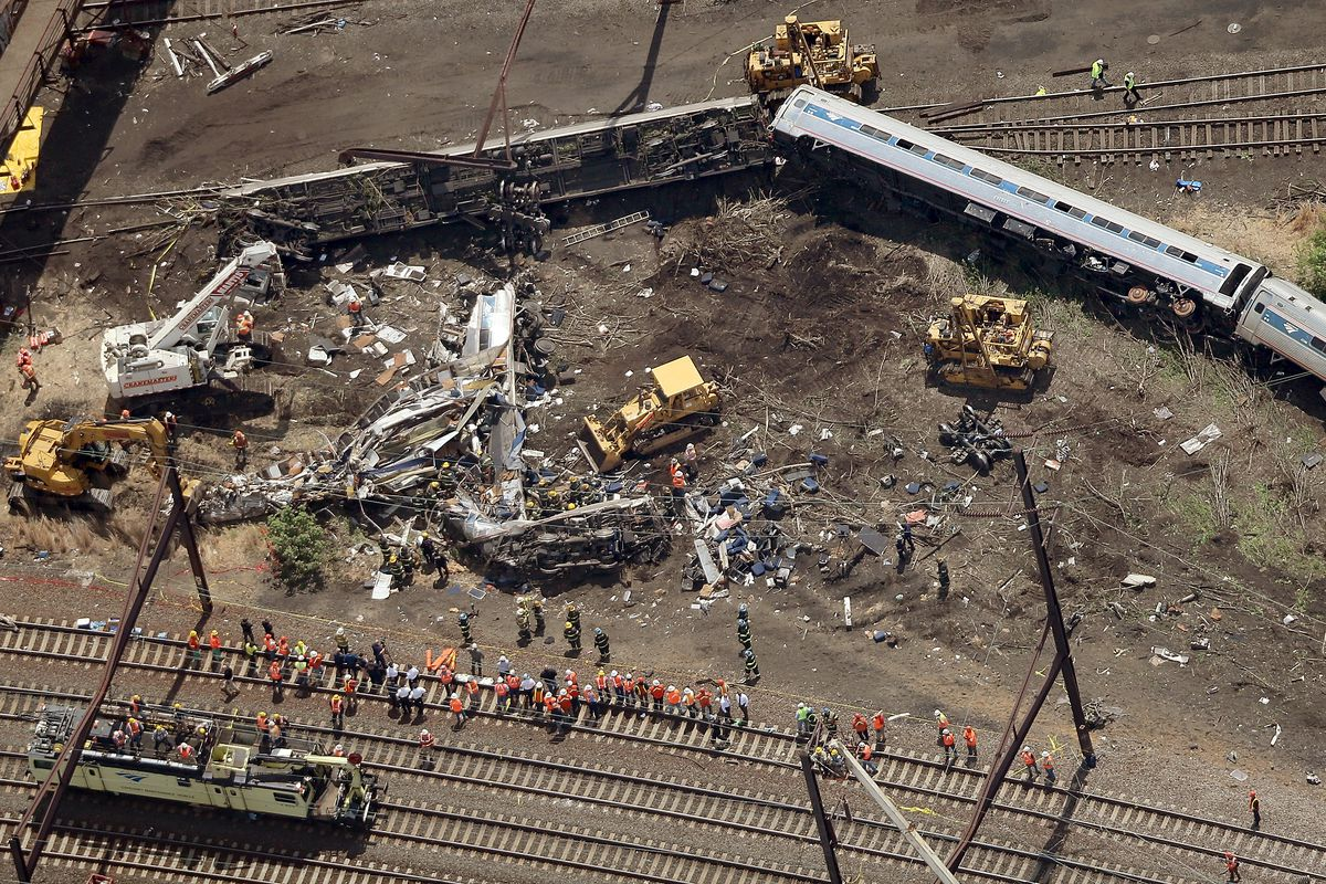 The derailment of Amtrak 188 killed eight people, but it's still not clear how it happened.