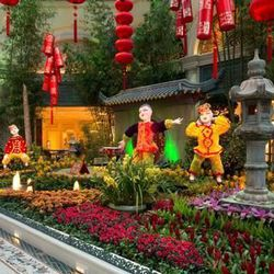 If you have the time and the energy, hop on the <strong>Aria Express</strong>, the light rail that can take you over to the <strong>Bellagio</strong> for a wander through the <strong>Bellagio Conservatory & Botanical Gardens</strong> (3600 Las Vegas Blvd.