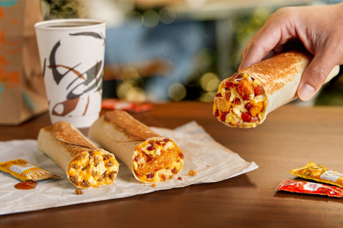 Taco Bell has debuted the all-new Toasted Breakfast Burrito Menu, featuring a trio of craveable burritos with eggs and other breakfast foods wrapped up and toasted to perfection.