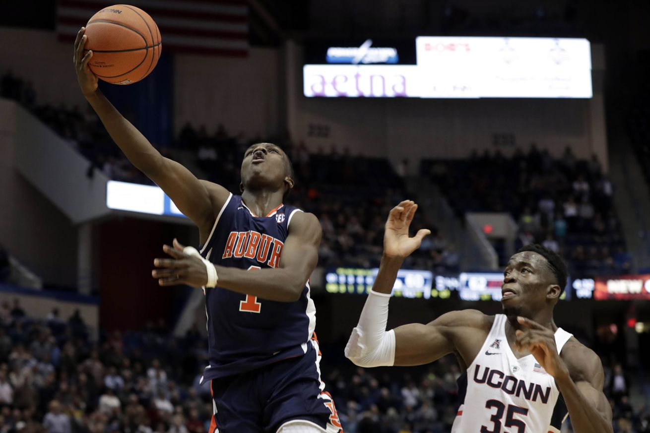NCAA Basketball: Auburn at Connecticut