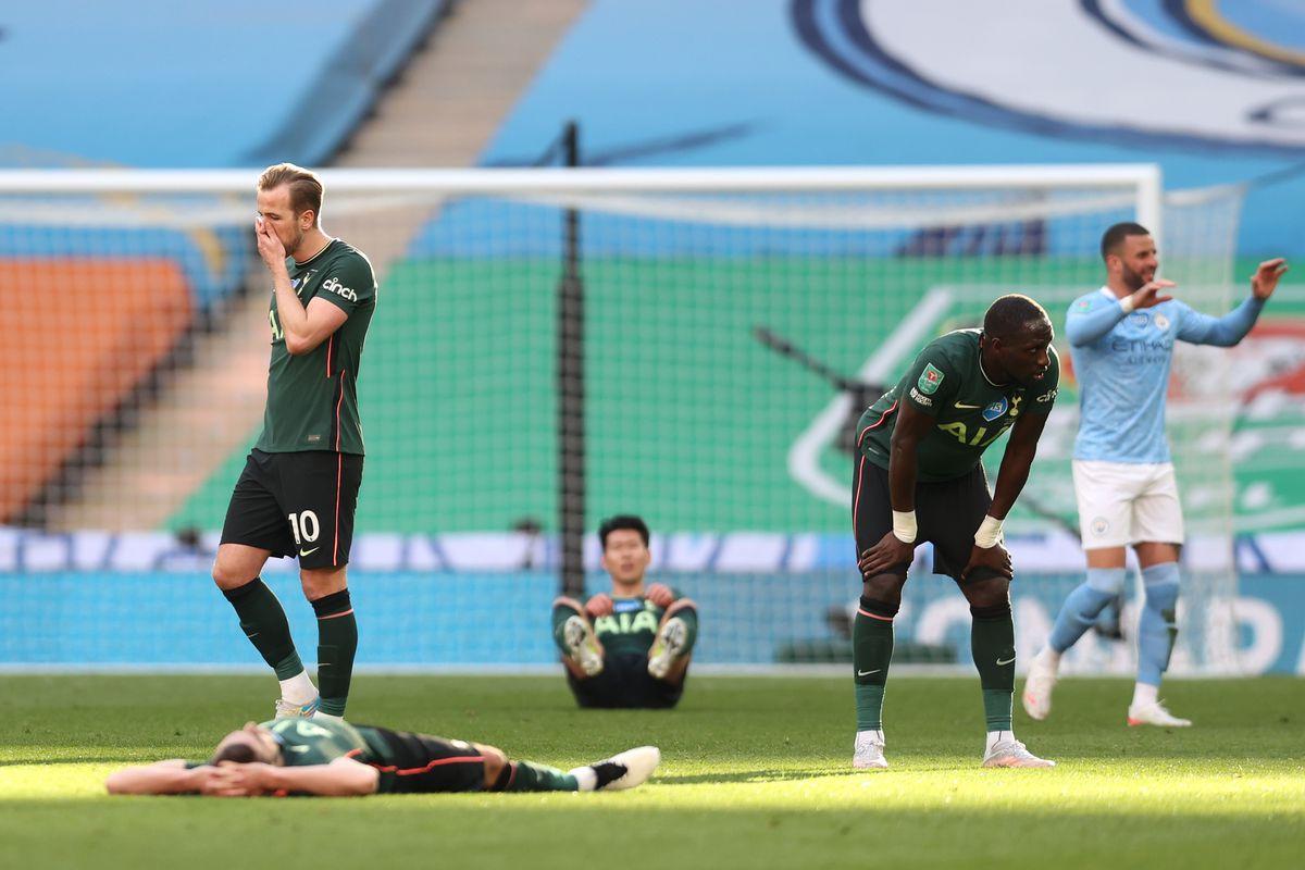 Manchester City 1 - 0 Tottenham Hotspur: Spurs concede League Cup on late  Laporte goal - Cartilage Free Captain