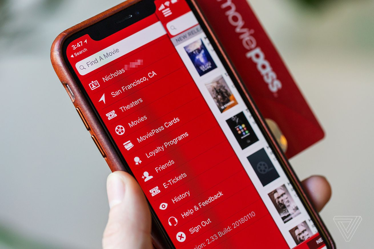 moviepass says it will refund users who were affected by last night s outage