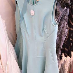 Raised Seam Scuba Dress, $495 (was $1,295)