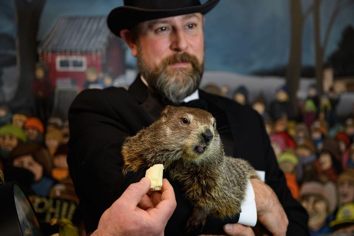 Annual Groundhog's Day Tradition In Punxsutawney, Pennsylvania