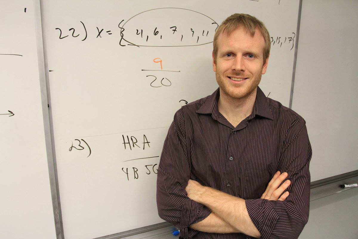 Zach Korzyk created DeltaMath.com, an online math teaching tool that is used by more than 20,000 students throughout the country every month.