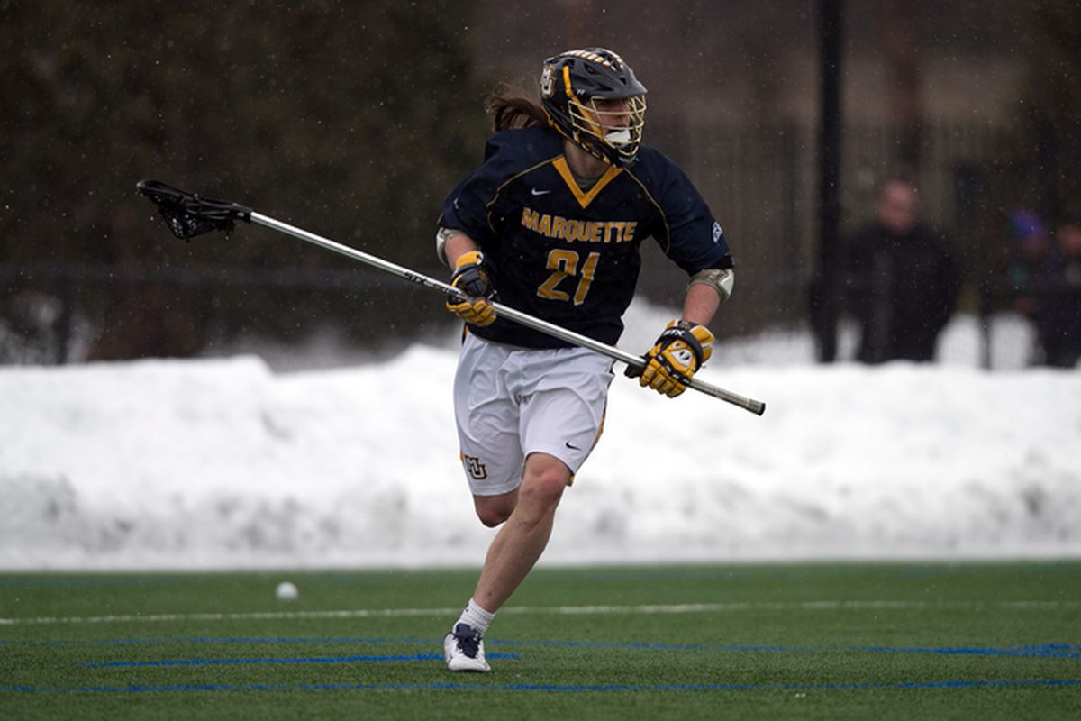 Liam Byrnes had 8 ground balls, 2 caused turnovers, and an assist against the #1 team in the country.