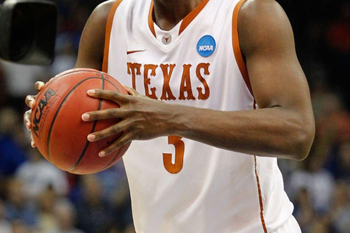 Jordan Hamilton is the third Texas Longhorn to declare for the 2011 NBA Draft.