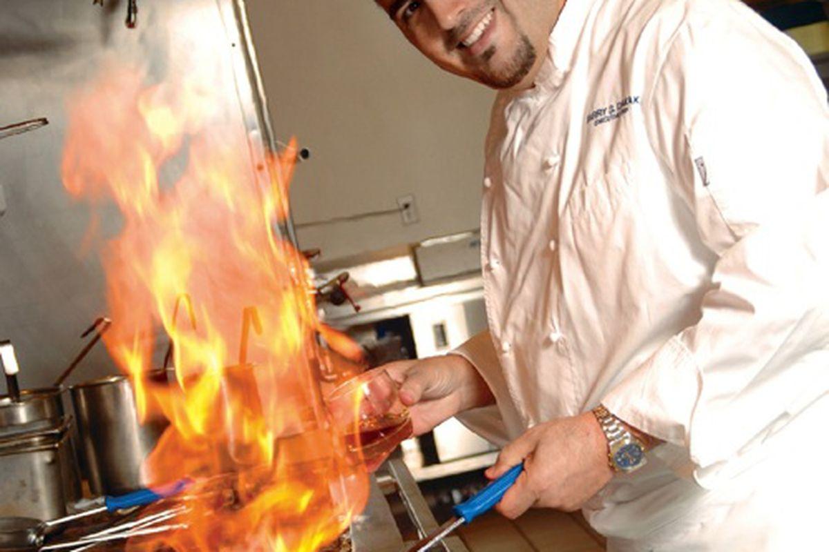 Barry Dakake, executive chef at N9NE Steakhouse