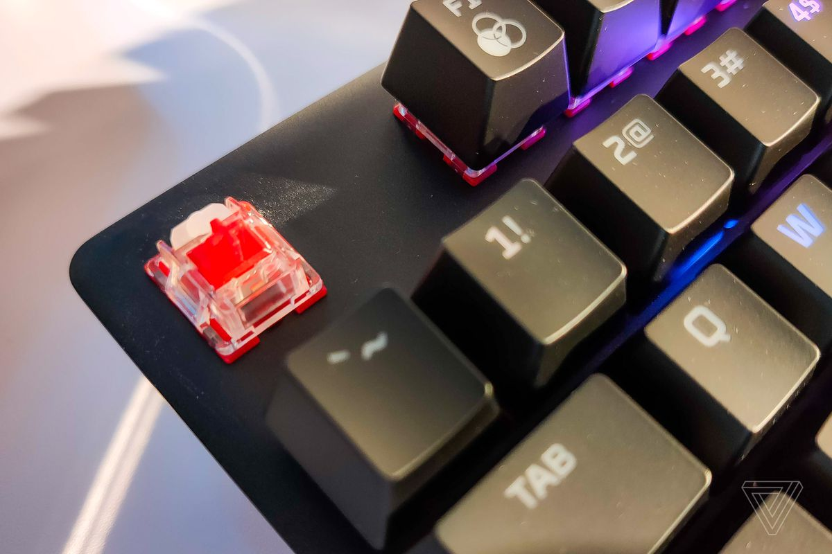 HyperX announces first gaming keyboard with its own switch