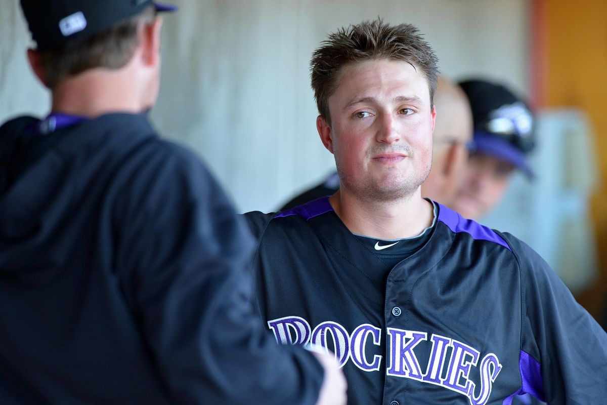 Jordan Pacheco had the most starts at third base for the Rockies in 2012, but may lose out on the job in 2013.