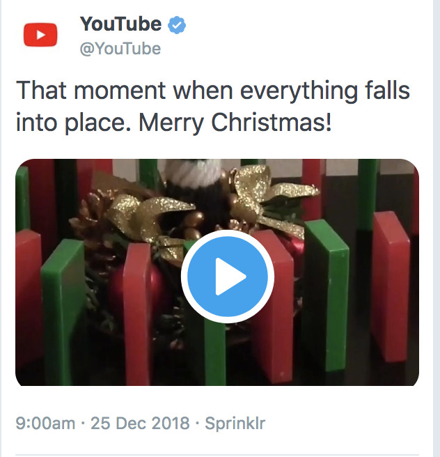 Youtube Christmas.Youtube Faces Backlash On Twitter Over Lifted Uncredited