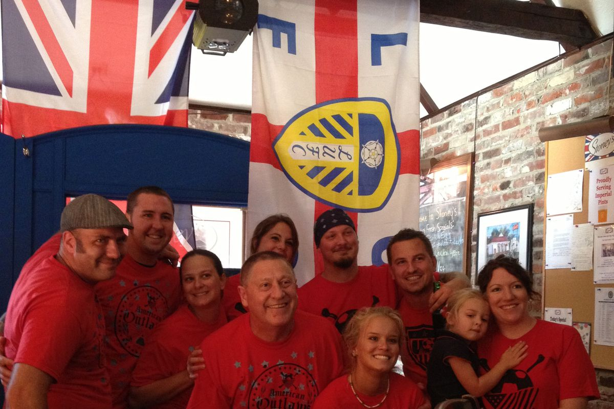 American Outlaws at Stoney's Pub for the 2013 Gold Cup Final