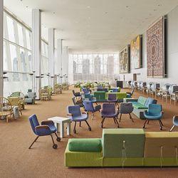 New interior for UN North Delegates' Lounge by Hella Jongerius