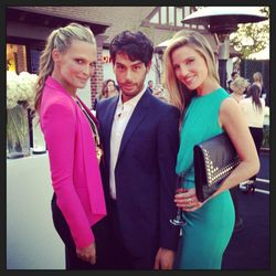 """""""OB-sessed with @joeymaalouf's hair/makeup!! Loved seeing him at @TracyAnderson's grand opening in Brentwood!!"""" - <a href=""""https://twitter.com/MollyBSims/status/320045896660287488""""target=_blank"""">@mollybsims</a>"""