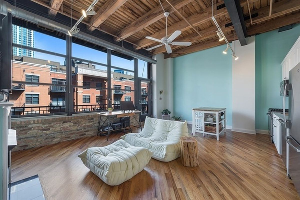 Quaint Simple Fulton River District Loft Can Be Had For