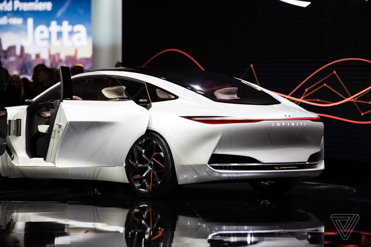 Infiniti S New Concept Car Is A Land Yacht For Movie