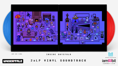 Undertale vinyl adds chiptune goodness to your record