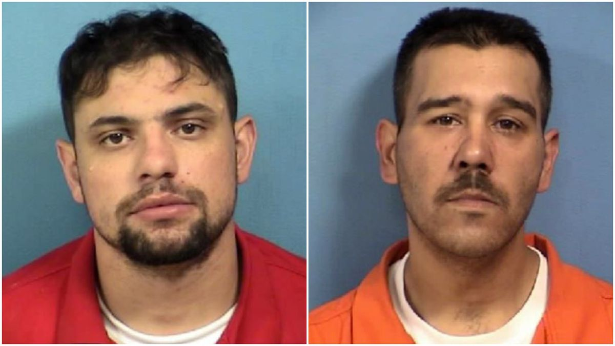 Two men charged with home burglary