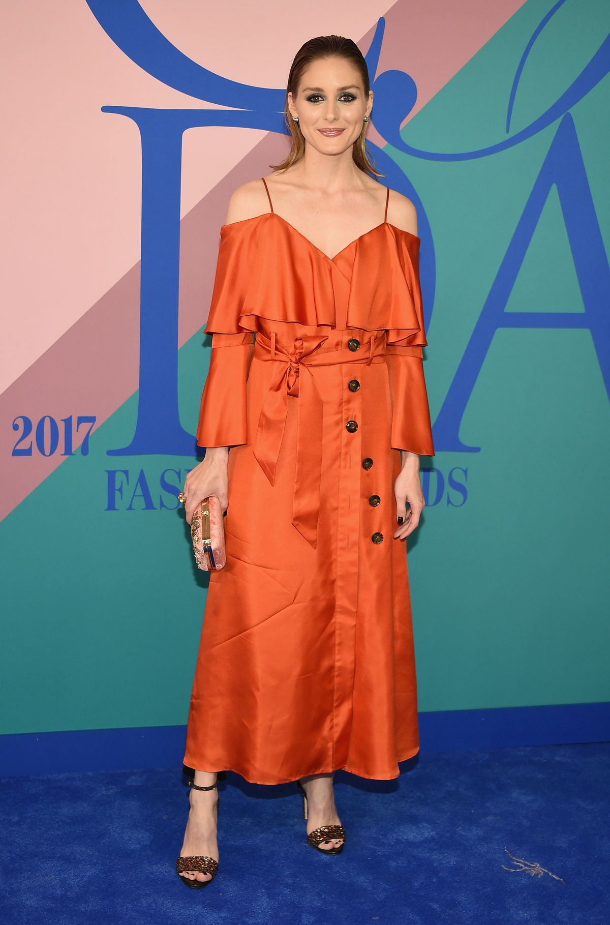 Olivia Palermo attends the 2017 CFDA Fashion Awards at Hammerstein Ballroom on June 5, 2017 in New York City.